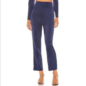 New NBD silky blue trousers sz XS